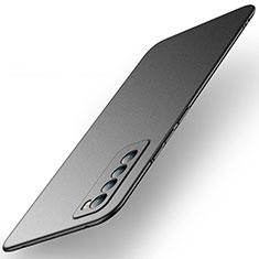 Custodia Plastica Rigida Cover Opaca M01 per Huawei Nova 7 5G Nero
