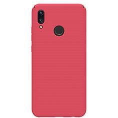 Custodia Plastica Rigida Cover Opaca M01 per Huawei P Smart (2019) Rosso