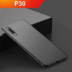 Custodia Plastica Rigida Cover Opaca M01 per Huawei P30 Nero
