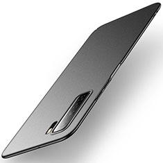 Custodia Plastica Rigida Cover Opaca M01 per Huawei P40 Lite 5G Nero