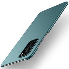 Custodia Plastica Rigida Cover Opaca M01 per Huawei P40 Verde