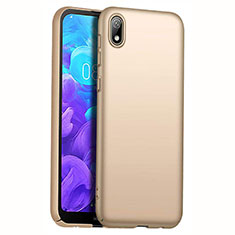 Custodia Plastica Rigida Cover Opaca M01 per Huawei Y5 (2019) Oro