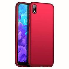 Custodia Plastica Rigida Cover Opaca M01 per Huawei Y5 (2019) Rosso