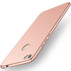Custodia Plastica Rigida Cover Opaca M01 per Huawei Y6 Pro (2017) Oro Rosa