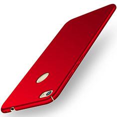 Custodia Plastica Rigida Cover Opaca M01 per Huawei Y6 Pro (2017) Rosso