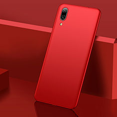 Custodia Plastica Rigida Cover Opaca M01 per Huawei Y7 (2019) Rosso