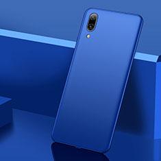 Custodia Plastica Rigida Cover Opaca M01 per Huawei Y7 Prime (2019) Blu