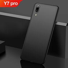 Custodia Plastica Rigida Cover Opaca M01 per Huawei Y7 Pro (2019) Nero