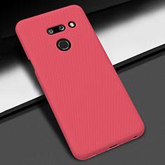 Custodia Plastica Rigida Cover Opaca M01 per LG G8 ThinQ Rosso