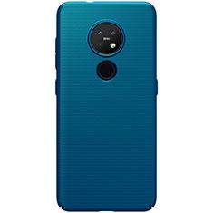 Custodia Plastica Rigida Cover Opaca M01 per Nokia 7.2 Blu