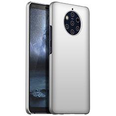 Custodia Plastica Rigida Cover Opaca M01 per Nokia 9 PureView Argento
