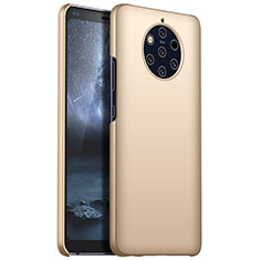 Custodia Plastica Rigida Cover Opaca M01 per Nokia 9 PureView Oro