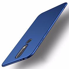 Custodia Plastica Rigida Cover Opaca M01 per Nokia X5 Blu
