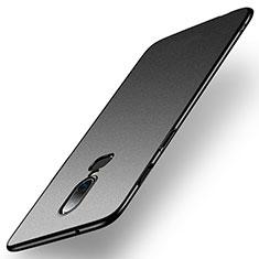 Custodia Plastica Rigida Cover Opaca M01 per OnePlus 6 Nero