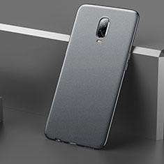 Custodia Plastica Rigida Cover Opaca M01 per OnePlus 6T Grigio