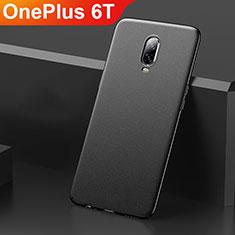 Custodia Plastica Rigida Cover Opaca M01 per OnePlus 6T Nero