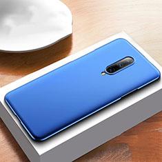 Custodia Plastica Rigida Cover Opaca M01 per OnePlus 7T Pro 5G Blu