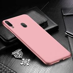 Custodia Plastica Rigida Cover Opaca M01 per Samsung Galaxy A30 Oro Rosa