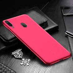 Custodia Plastica Rigida Cover Opaca M01 per Samsung Galaxy A30 Rosso