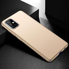 Custodia Plastica Rigida Cover Opaca M01 per Samsung Galaxy A51 4G Oro
