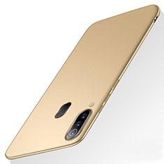 Custodia Plastica Rigida Cover Opaca M01 per Samsung Galaxy A60 Oro