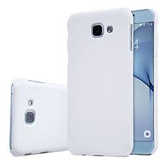 Custodia Plastica Rigida Cover Opaca M01 per Samsung Galaxy A8 (2016) A8100 A810F Bianco