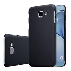 Custodia Plastica Rigida Cover Opaca M01 per Samsung Galaxy A8 (2016) A8100 A810F Nero