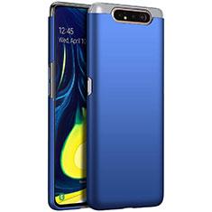Custodia Plastica Rigida Cover Opaca M01 per Samsung Galaxy A80 Blu