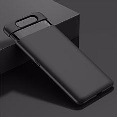 Custodia Plastica Rigida Cover Opaca M01 per Samsung Galaxy A80 Nero