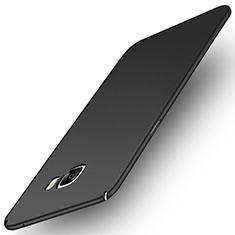 Custodia Plastica Rigida Cover Opaca M01 per Samsung Galaxy C7 Pro C7010 Nero
