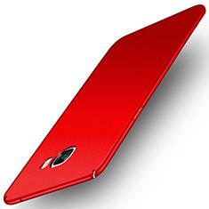 Custodia Plastica Rigida Cover Opaca M01 per Samsung Galaxy C7 Pro C7010 Rosso