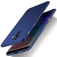 Custodia Plastica Rigida Cover Opaca M01 per Samsung Galaxy J6 (2018) J600F Blu