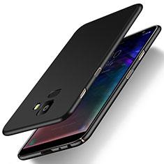 Custodia Plastica Rigida Cover Opaca M01 per Samsung Galaxy J6 (2018) J600F Nero