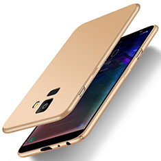 Custodia Plastica Rigida Cover Opaca M01 per Samsung Galaxy J6 (2018) J600F Oro