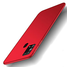 Custodia Plastica Rigida Cover Opaca M01 per Samsung Galaxy M21s Rosso