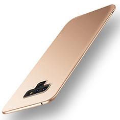 Custodia Plastica Rigida Cover Opaca M01 per Samsung Galaxy Note 9 Oro
