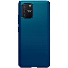 Custodia Plastica Rigida Cover Opaca M01 per Samsung Galaxy S10 Lite Blu