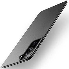 Custodia Plastica Rigida Cover Opaca M01 per Samsung Galaxy S21 Plus 5G Nero