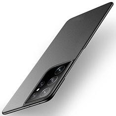 Custodia Plastica Rigida Cover Opaca M01 per Samsung Galaxy S21 Ultra 5G Nero