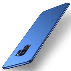 Custodia Plastica Rigida Cover Opaca M01 per Samsung Galaxy S9 Blu