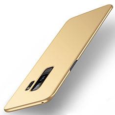Custodia Plastica Rigida Cover Opaca M01 per Samsung Galaxy S9 Plus Oro