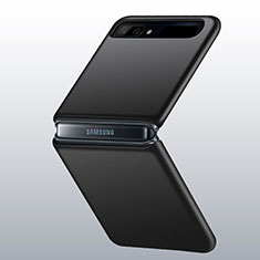 Custodia Plastica Rigida Cover Opaca M01 per Samsung Galaxy Z Flip 5G Nero