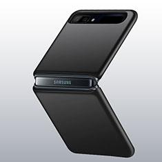 Custodia Plastica Rigida Cover Opaca M01 per Samsung Galaxy Z Flip Nero