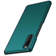 Custodia Plastica Rigida Cover Opaca M01 per Sony Xperia 10 II Verde