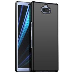Custodia Plastica Rigida Cover Opaca M01 per Sony Xperia 10 Plus Nero