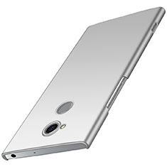 Custodia Plastica Rigida Cover Opaca M01 per Sony Xperia XA2 Argento