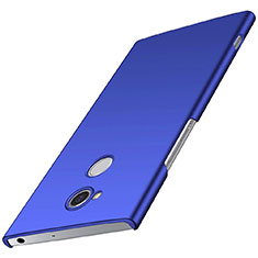 Custodia Plastica Rigida Cover Opaca M01 per Sony Xperia XA2 Plus Blu