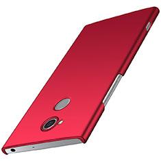 Custodia Plastica Rigida Cover Opaca M01 per Sony Xperia XA2 Plus Rosso