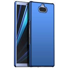 Custodia Plastica Rigida Cover Opaca M01 per Sony Xperia XA3 Blu