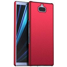 Custodia Plastica Rigida Cover Opaca M01 per Sony Xperia XA3 Rosso